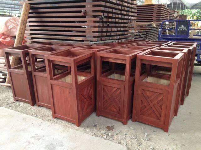 防腐木垃圾桶 -> 产品中心